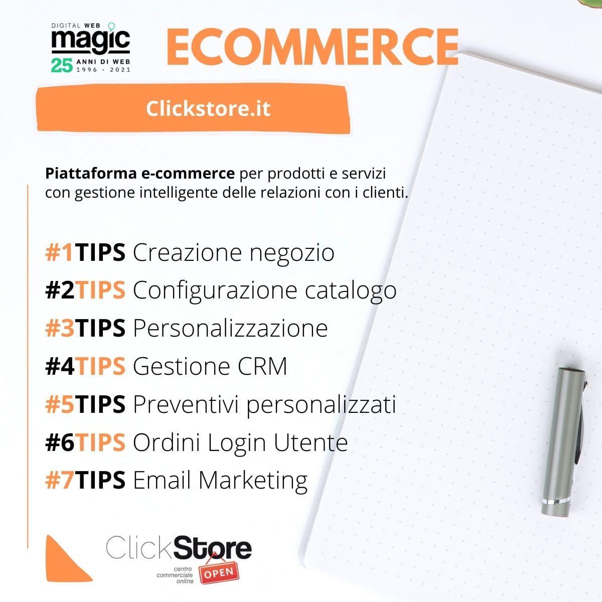 ecommerce clickstore 1 min