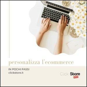 personalizza il tuo ecommerce 3 min