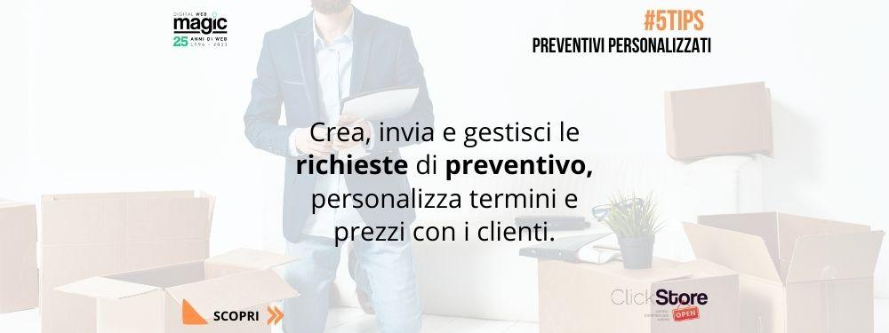 5tips preventivi personalizzati